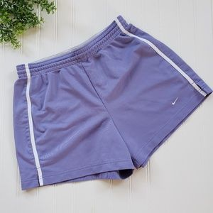 Nike Purple High Rise Running Athletic Shorts sz M